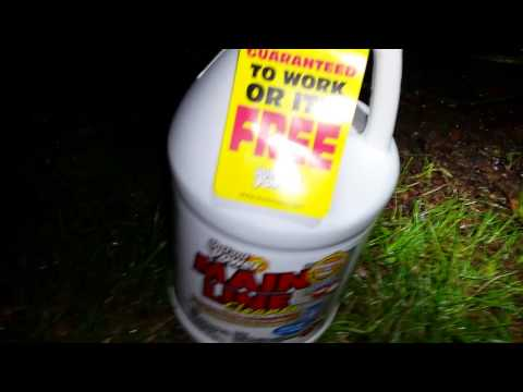 Main Line drain cleaner test (part 1 of 2) - 2015-05-16