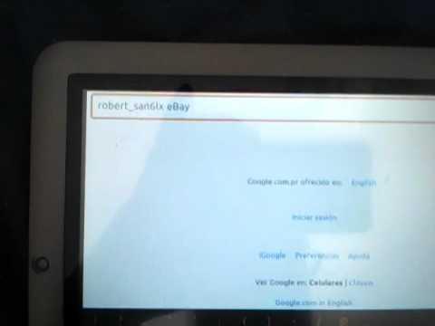 Coby Kyros MID8024 Android 2.3 CUSTOM ROM Nefarious Bread v1.2 NETFLIX+FLASHPLAYER PLAY STORE