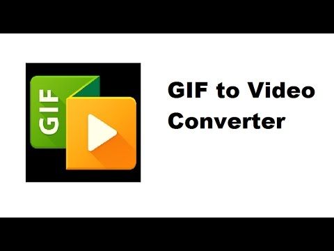 How to convert GIF file into video formats