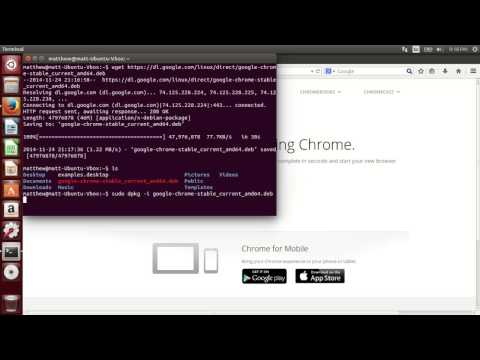 Installing Google Chrome in Ubuntu 14.04 Desktop