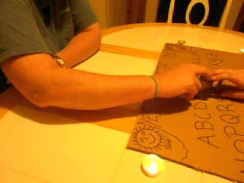 First Ouija Board Experience went very well!!