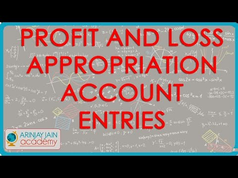 1195. Profit and Loss Appropriation Account Entries for Payment received by the firm from partners