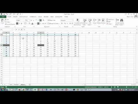 Excel 2013 Formulas 03: Mixed Cell References