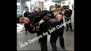 5 Kick Options to Add to Techniques