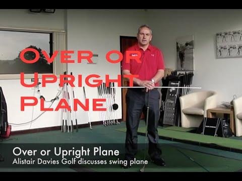 Golf Tip  Hit it Straight  Swing Plane