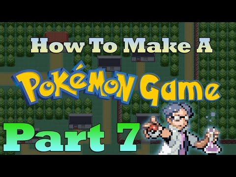 How To Make a Pokemon Game in RPG Maker - Part 7: Event Commands