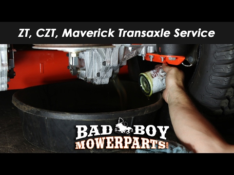 ZT, CZT, Maverick Transaxle Service Procedure