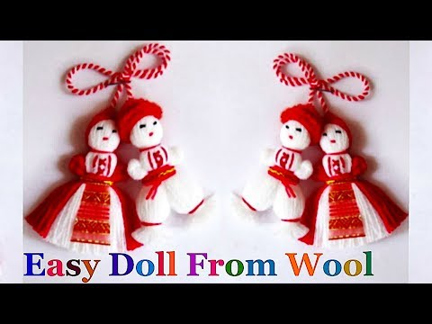 How to make yarn/wool Doll step by step at home | DIY Yarn/Wool craft idea