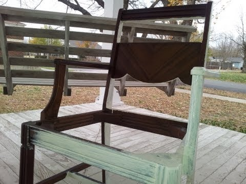 Chic on the Cheap: Chair Update