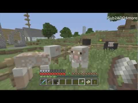 Minecraft 360 Tu9: Sheep now Re Grow Wool! Yay! (Tips And Tricks)