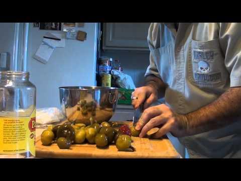 Italian Stuffed Cherry Peppers - Wicked Good Eats
