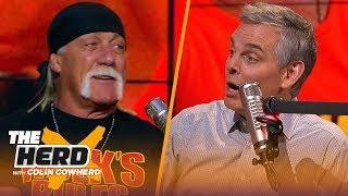 Hulk Hogan: I kicked the door open for wrestling, The Rock ripped the door off | WWE | THE HERD