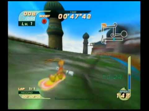 Sonic Riders - Missions - Sky Road