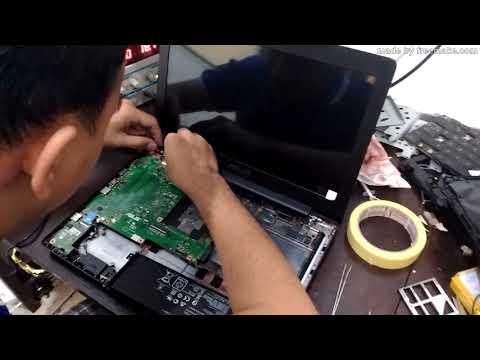Service Laptop Asus X453MA-LED Tidak Tampil