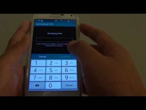 Samsung Galaxy S5: How to Set a Lock Screen Pattern Lock