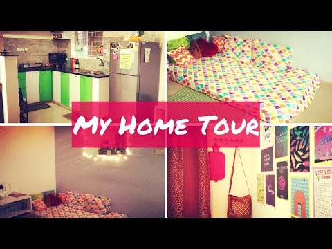 My Home Tour   Indian House Tour   Indian Rented Apartment Tour   Saloni Srivastava