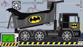 Batman Big Truck and Batman Excavator | Toy Factory | Video for Children | Ciężarówka  Batman