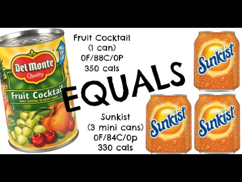 equals & alternatives Episode 34: Canned Fruit and Sunkist Orange Soda