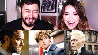 FANTASTIC BEASTS: THE CRIMES OF GRINDELWALD | Trailer Reaction!