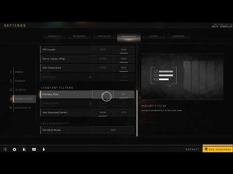 How to Enable Profanity Filter in Black Ops 4