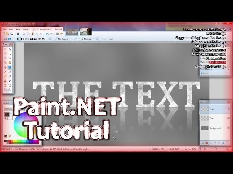 Paint.NET S04 E03 | Basic things you can do as a beginner (part 1 of 2)