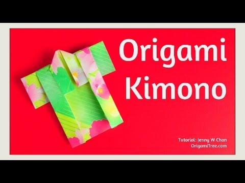 Origami Kimono - Paper Crafts - Paper Kimono