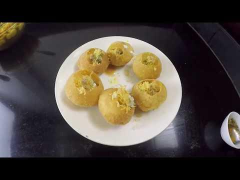 DAHI RAGDA PURI Recipe in Hindi - Street food Mumbai.