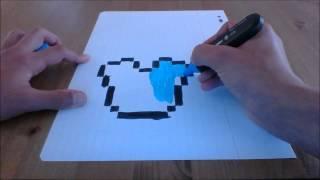 Comment Dessiner Un Creeper De Minecraft Pas à Pas Skin