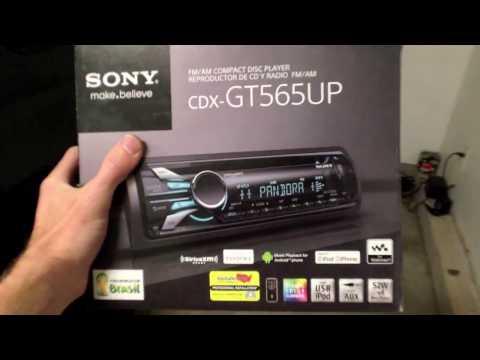 Sony CDX-GT565UP Car Stereo, CD, MP3, USB, Android, iOS