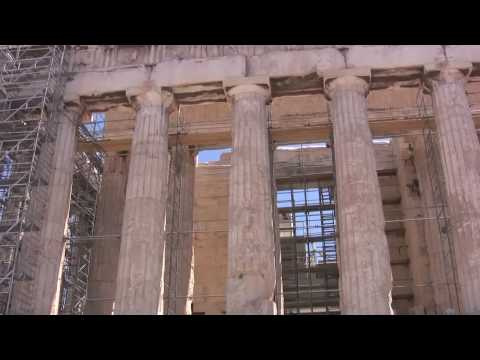 The Acropolis and Parthenon, Greece, July 2009