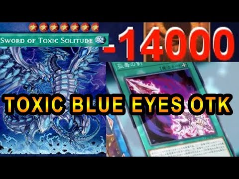 NEW TOXIC SWORD BLUE EYES MAX 1 HIT OTK! CHEESE YUGIOH DECK!
