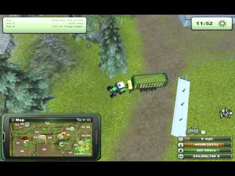 Farming simulator 2013 tutorial Feeding sheep P2