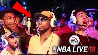 EXPOSING CASHNASTY ON NBA LIVE! FIRST-EVER NBA Live 18 Gameplay