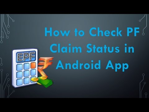 Check PF Claim Status Online via Android App