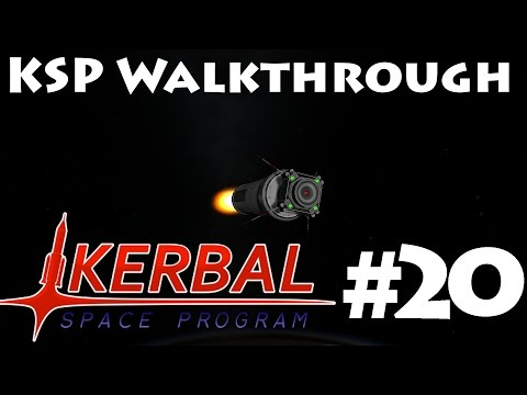 KSP Walkthrough 20 Satellite in a Specific Orbit