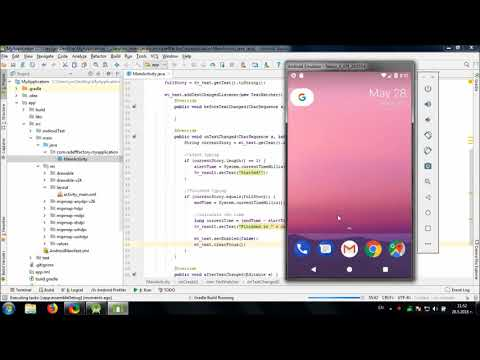 Develop simple Fast Typing game in Android Studio