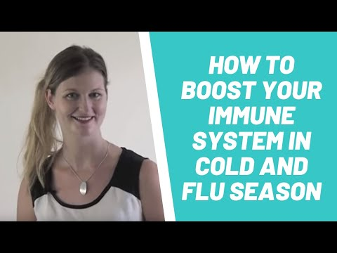 How To Boost Your Immune System In Cold and Flu season