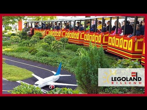 Legoland Billund Resort Denmark - Legoland Lego Train - Lego FUN