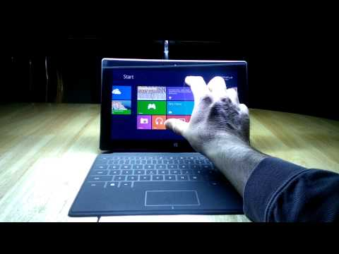 Microsoft Surface Introduction (Part 1)