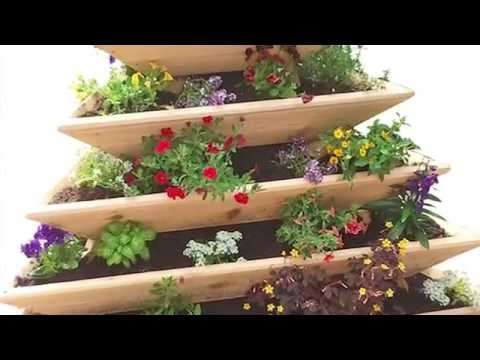 Pyramid Planting Garden in your home