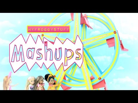 Mash Ups - How to Make: Doll Ferris Wheel | Concession Stand | Circus | Carnival Food & Games
