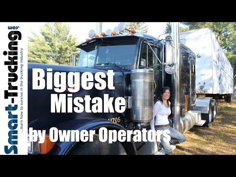 The Most Common Owner Operator Mistake