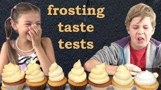 Download Frosting Recipes Taste and Heat tested HOW TO COOK THAT Ann Reardon Kids React Video