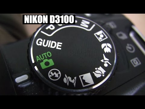 Nikon D3100 DSLR  Basic beginner tutorial training Part 1