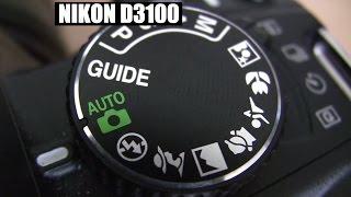 Nikon D3100 DSLR  Basic beginner tutorial training Part 1