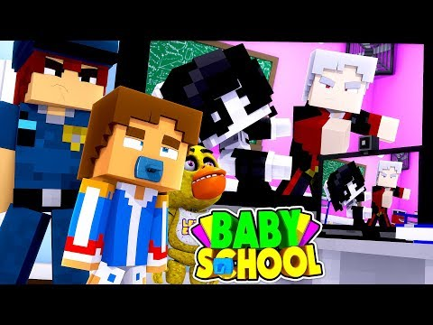 Minecraft BABY SCHOOL || EVIL TEACHER IS CAUGHT ON SECRET CAMERA BULLYING THE KIDS || Roleplay