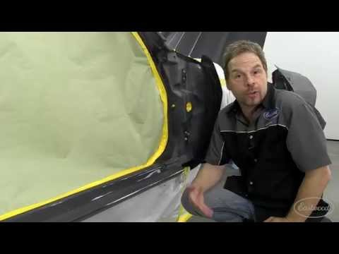 How To Properly Mask a Car for Paint - Back Masking with Kevin Tetz - Eastwood