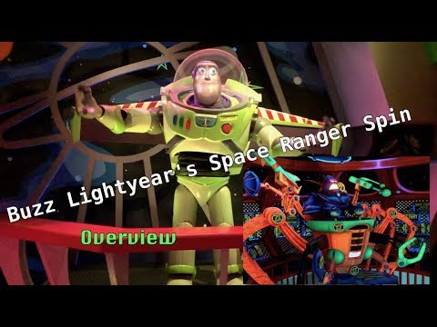 ATTRACTION OVERVIEW: Buzz Lightyear's Space Ranger Spin