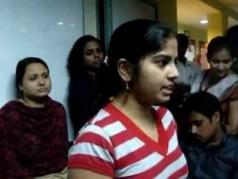 Shilpa shares her interview experience at NIIT centre
