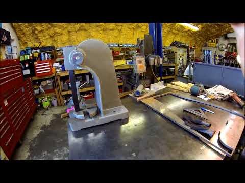 Arbor press stand build